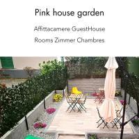 Pink House Garden