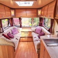 Top Spec Touring Caravan, Minstead, New Forest