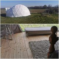 Lincoln Glamping Dome
