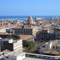 Apartment with 3 bedrooms in Catania with wonderful city view balcony and WiFi 5 km from the beach