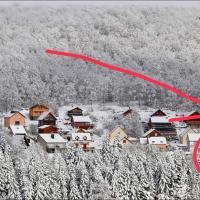 maison forêt d'Aubrac , au coeur de la nature, hotel in Prades-d'Aubrac