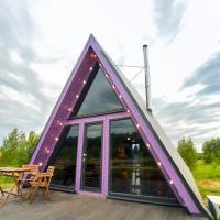 A-Land домики A-frame