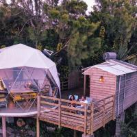 Bubble Dome Village, hôtel à Saint-Joseph