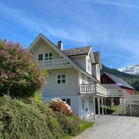 The house of Mattis in beautiful Innvik