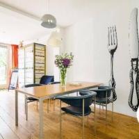 Studio Zaagmolen, Superb stylish apartment, 65m2 with private garden, close to city centre, hotel in Noordoost, Utrecht