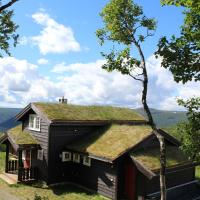 Storemyr cabin is located at 1060 meters with view
