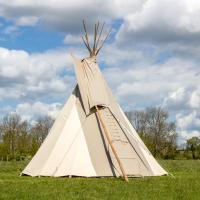 Traditional Tipi for 2-5- Pilton Yurt Camps