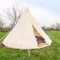 TipiTent for 2-4- Pilton Yurt Camps
