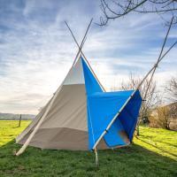 TriLodge for 3- Pilton Yurt Camps