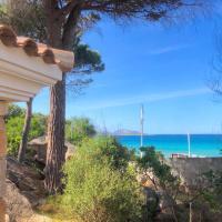 Casa grecale Villetta Fronte mare con accesso in spiaggia, hotell i Porto Taverna
