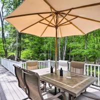Idyllic New Hampton Home with Hot Tub and Grill!