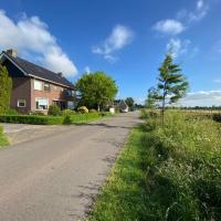 Woning aan het water in het Friese Merengebied