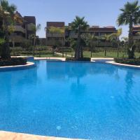 Luxurious Apartment Golf City, Hotel in der Nähe vom Flughafen Marrakesch Menara - RAK, Marrakesch