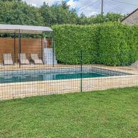 Awesome home in Nanclars with Outdoor swimming pool, WiFi and 2 Bedrooms