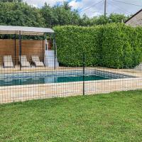 Beautiful home in Nanclars with Outdoor swimming pool, WiFi and 2 Bedrooms