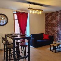 Appartement Industriel avec petite terrasse, hotel in Belfort