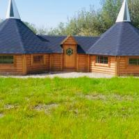 Miniature oast house & Duck Shed