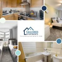 Spacious Contractor Flat for Large groups - Private Parking by Tailored Apartments