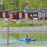 Falu Vildvattenpark, hotell i Falun