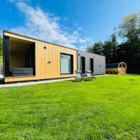 Voralpen Lodge mit Outdoor Sauna & Whirlpool