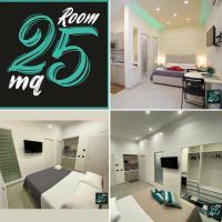 Room25mq Ferrovia, hotell i Cercola