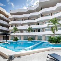 Spacious and luxurious 2 bedroom apartment wih city view and private balcony.
