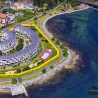 Plaza la Ria, hotel near A Coruña Airport - LCG, Fonte Culler