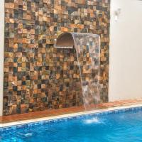 Casa com piscina e Wi-Fi em Itapetininga