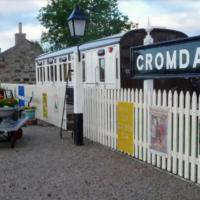 Cromdale Station Train Carriage