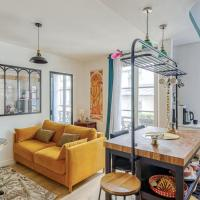 Modern apartment at the foot of Montmartre