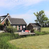 Cozy apartment in Lekkum with rural view