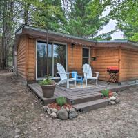 Rustic Cabin with Fire Pit on Au Sable River!