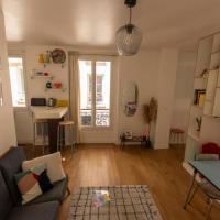 MAGNIFICENT apartment near BUTTES-CHAUMONT Paris