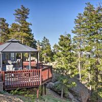Private Evergreen Hideaway with Deck and Mtn View