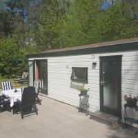 Tiny house with private garden in Epe Veluwe