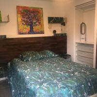 Beau studio équipé avec terrasse arborée - Calme et confortable