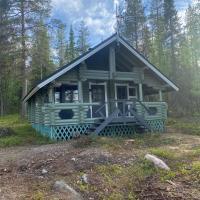 Riverside Cottage near Ylläs, Lapland, hotel in Kittilä