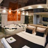 Design Apartment GRAND LUX 4 STAR Malibu free WiFi & Jacuzzi & Salt wall & Parking