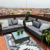 Apartamento con terraza y piscina en Malgrat de Mar