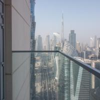 Burj Khalifa view from ALL rooms Brand New 3BR - Noora