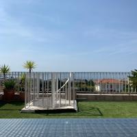 Appartement T2 4 personnes vue mer EXCEPTIONNELLE + solarium privé 50m2 + piscine