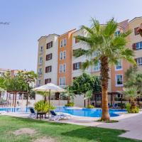 Spacious 1 bedroom in Discovery Garden - 3 min from IBN Batuta Mall