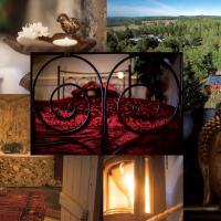 Romantic Spa Villa with Fireplace, hotel in Stjärnsund