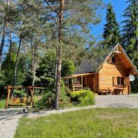 Smerekowiec domek w lesie