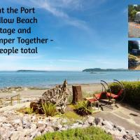Private Beach - Book Port Ludlow Beach Cottage and Camper Together, hotel in Port Ludlow