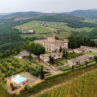 Castello Di Meleto Wine Destination - Camere in Castello e Appartamenti, hotell i Gaiole in Chianti