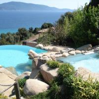 Villas Valinco San Martinu Corse du Sud - vue et proche mer - piscines privées