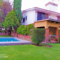 Casa Vacacional con Alberca y Asador Tequisquiapan Querétaro Club de Golf