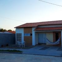 Casa com piscina e Wi-Fi em Tutoia-MA