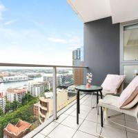 A Spacious 2BR Apt with a Gorgeous View of Darling Harbour, FREE Parking